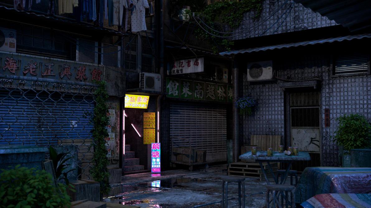 [Kowloon At Nite] Brothel by hoangphamvfx