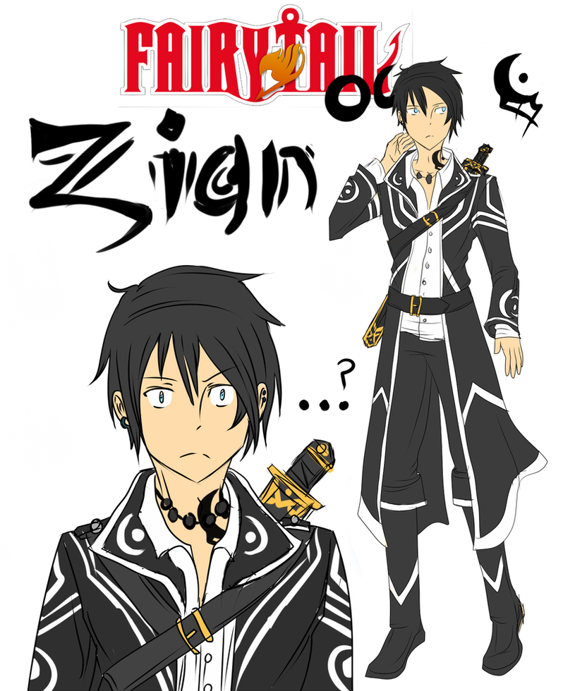 Fairy Tail OC: Zian Blackstroke by Kalina1176 on DeviantArt
