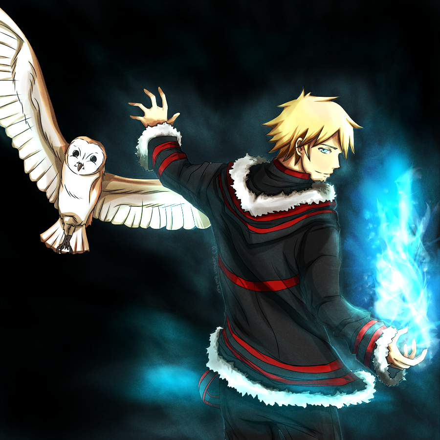 D.Gray-man OC: Azure Phantom: Lark by Kalina1176