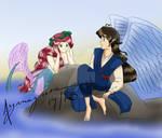 Mermaid and Angel