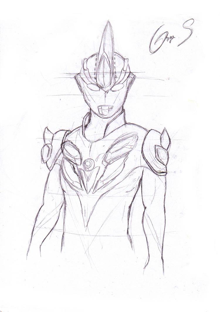Ultraman Ginga Victory Sketch Coloring