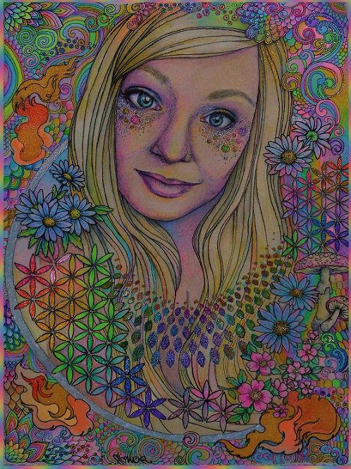 portrait by flowwwer