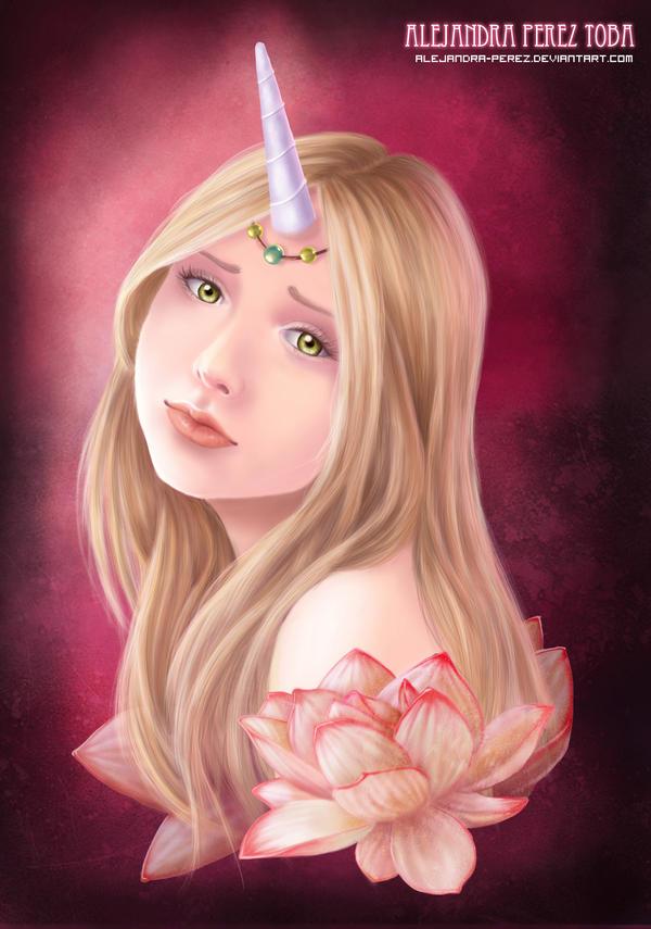 Unicorn Princess Color by Alejandra-perez