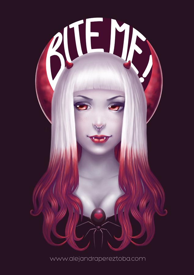 Bite Me! by Alejandra-perez