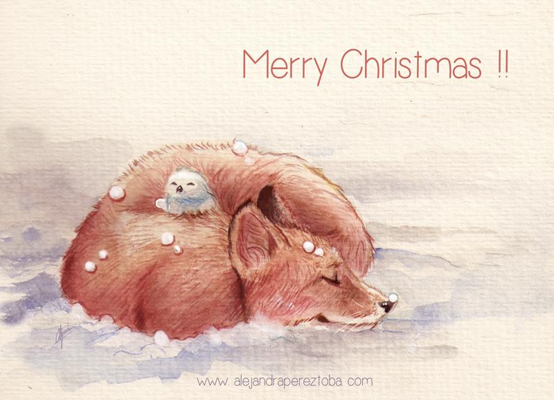Merry Christmas! by Alejandra-perez
