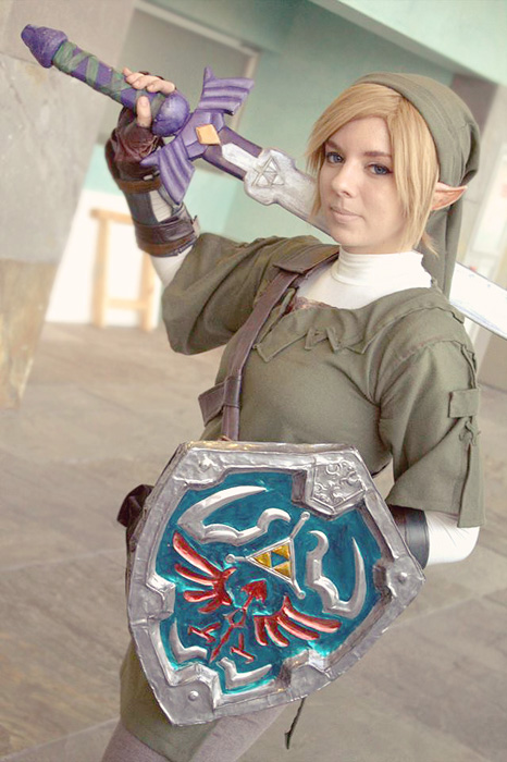 My Link Cosplay! :D by Alejandra-perez