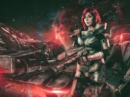 Commander Shepard Cosplay by Anhyra