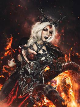 Dragon Sorceress Cosplay