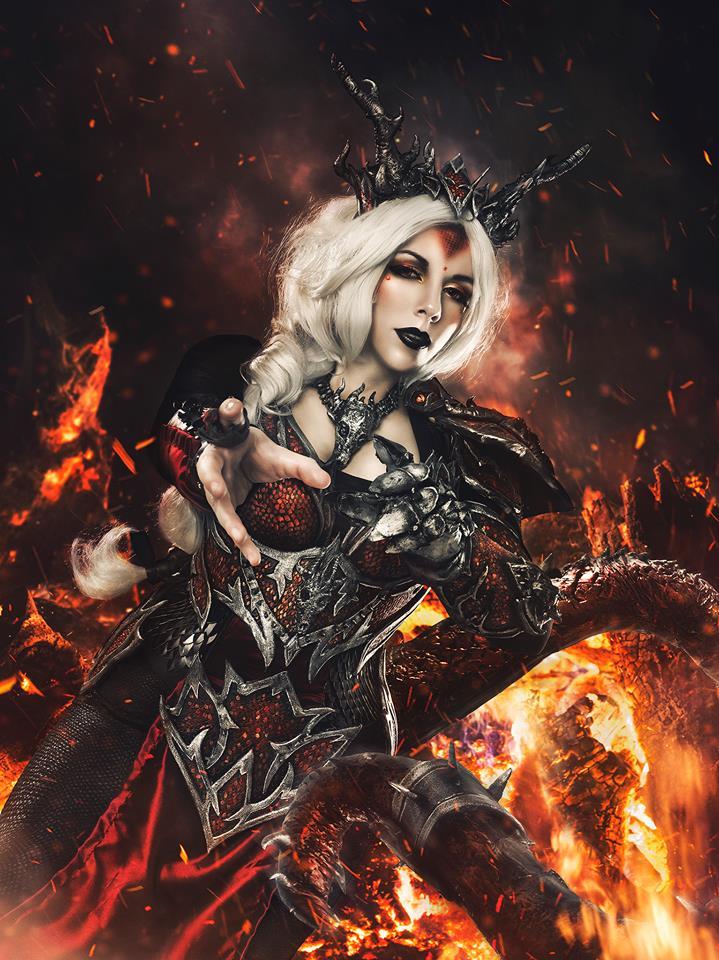 Dragon Sorceress Cosplay by Alejandra-perez