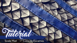 Easy Scalemail -  Cosplay Tutorial