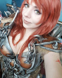 Barbarian cosplay Diablo 3 by Anhyra