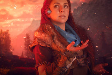 Aloy Cosplay - Horizon Zero Dawn by Anhyra