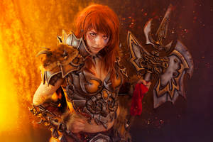 Barbarian Cosplay - Diablo 3 by Anhyra