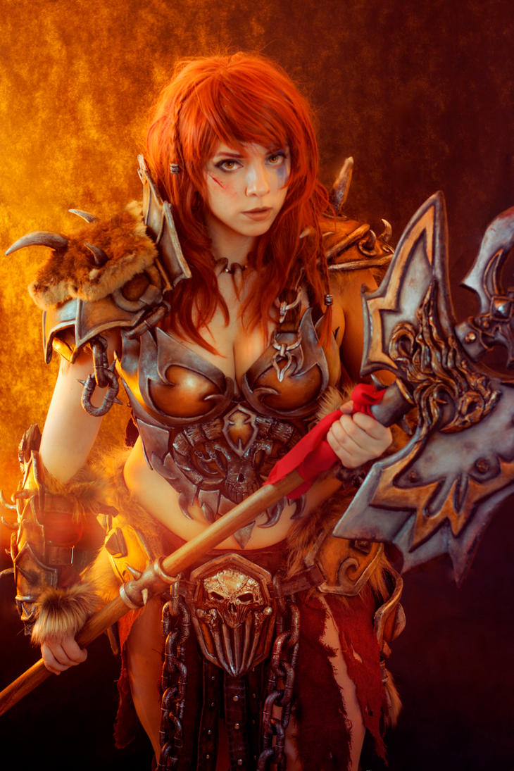 Barbarian Cosplay, Diablo 3, Blizzard by Anhyra