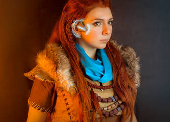 Aloy Cosplay by Anhyra