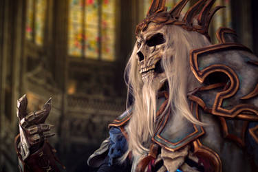 Leoric Cosplay from Diablo 3 by Anhyra