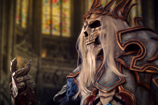 Leoric Cosplay from Diablo 3