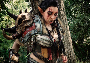 Mag'har Orc Cosplay - World of Warcraft - Anhyra