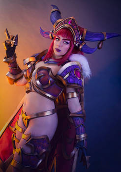 Alexstrasza Cosplay - Heroes of the Storm - Anhyra