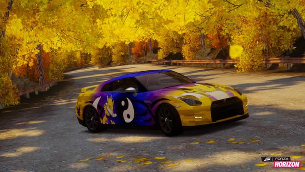 Forza Horizon Renamon Nissan GTR