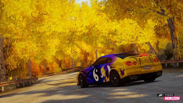 Forza Horizon Renamon Nissan GTR 2