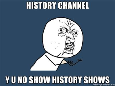 Y U NO HISTORY by PurplePhoneixStar