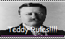 Teddy Roosevelt Stamp by PurplePhoneixStar