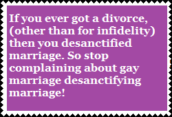 Straight people can descantify marriage by PurplePhoneixStar
