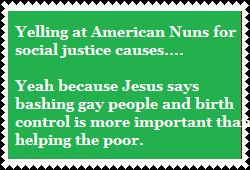 Stop scolding USA nuns by PurplePhoneixStar