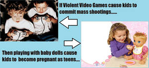 If and then on violent video games..... by PurplePhoneixStar