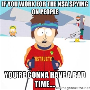 NSA Ski Instructor by PurplePhoneixStar