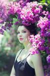 Violet Beauty by EclipxPhotography