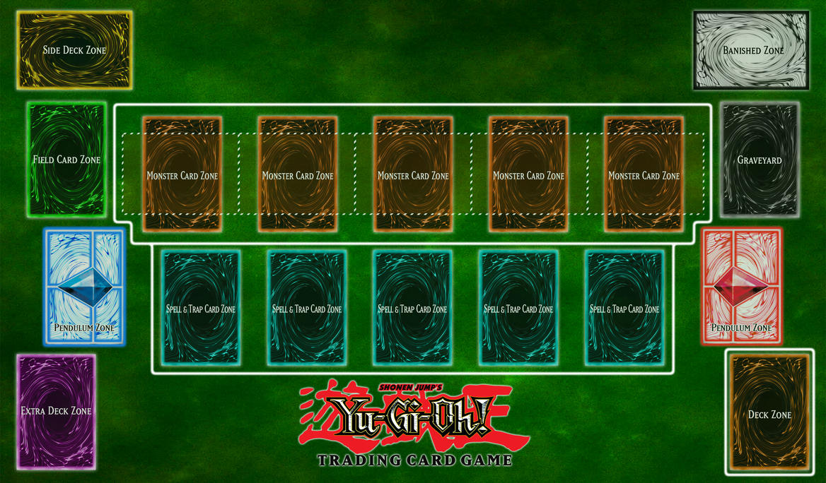 Yu gi oh playmat v2 by clannadat on deviantart for Yugioh mat template