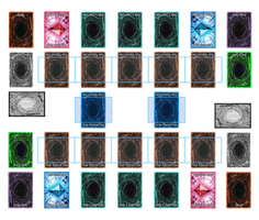 Yu-Gi-Oh! Playmat Template 2017 (2-Player LINK) by CLANNADAT