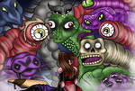 It's always f*cking demons. by pogona-does-art