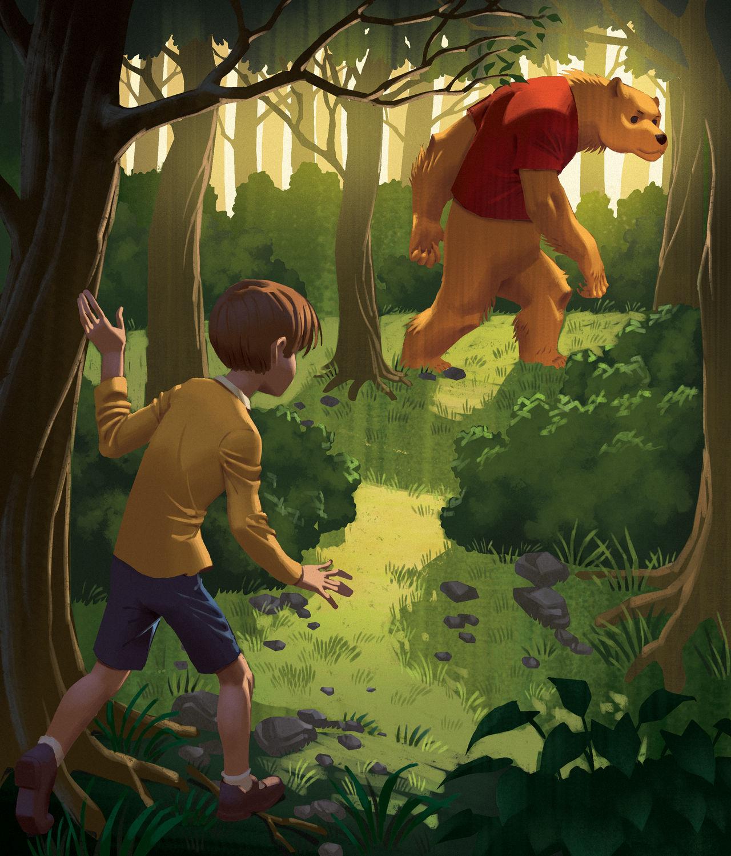 A Boy and a Bear