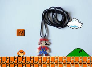 Mario Bros Necklace