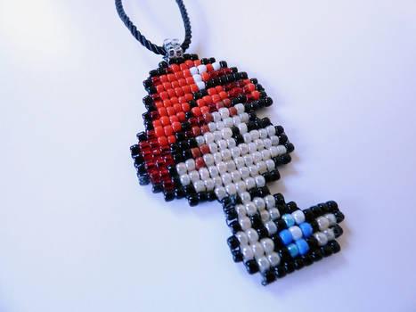 Baby Mario necklace