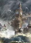 Big Ben gets hit by London eye