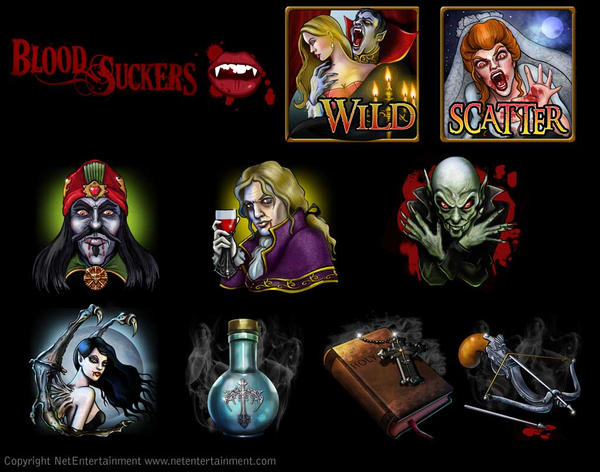 BLOOD SUCKERS symbols by JenHell66