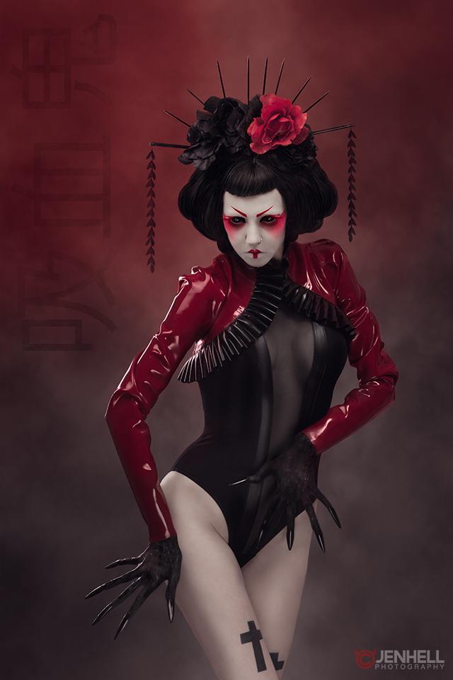 Vampire Geisha by JenHell66