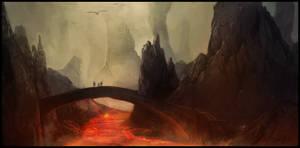 Lava landscape by JonathanDeVos
