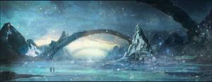 Frozen River - speedpainting