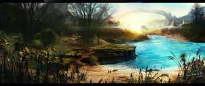 Lakeside by JonathanDeVos