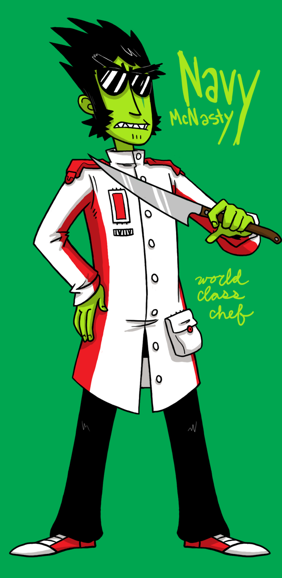 COOKING WARS: Chef Navy by MyNameIsMad