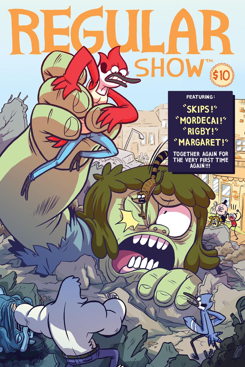 Sympathise with Regular show comics