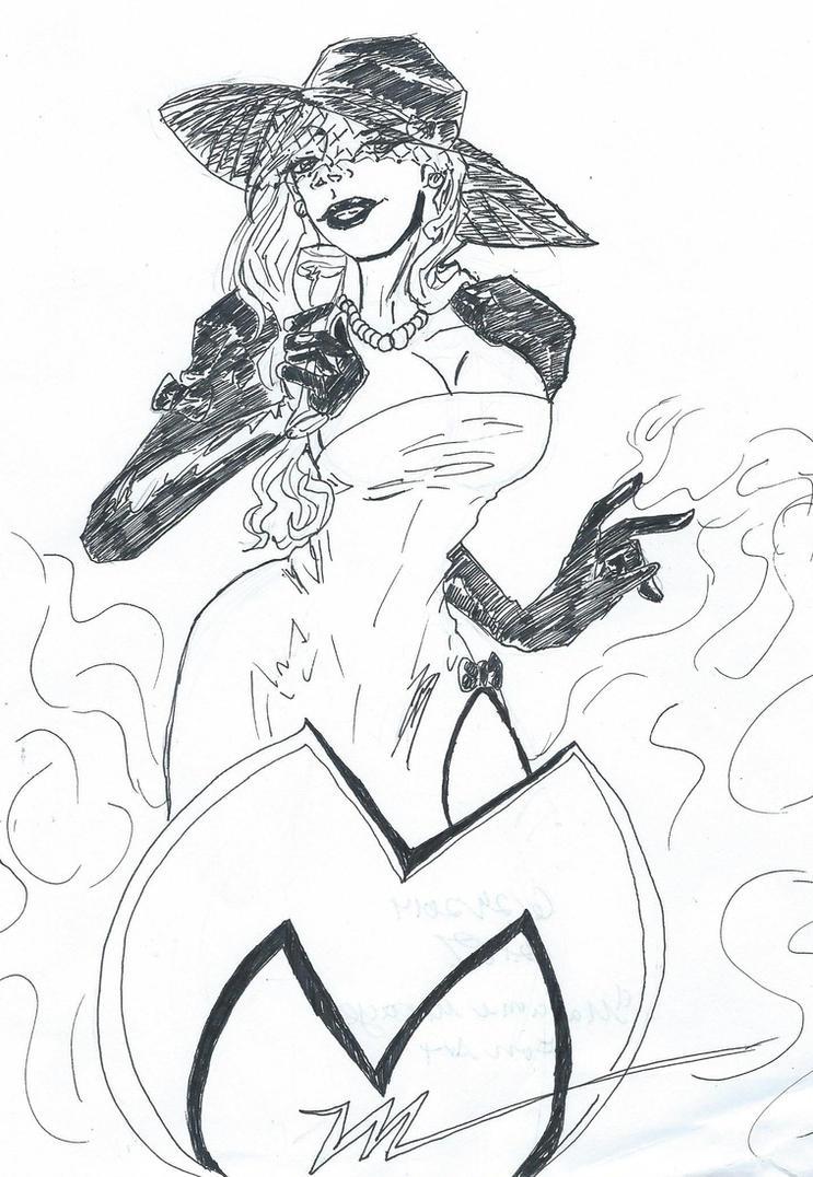 Madam Mirage   fan art by Saber-Rose
