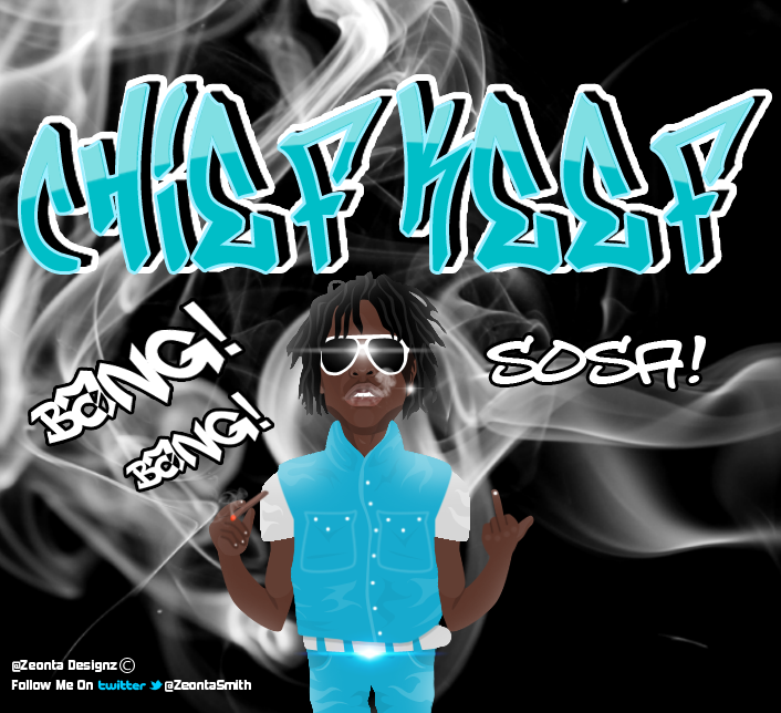 Chief Keef Cartoon Graphic Design by ZeontaSmith on DeviantArt