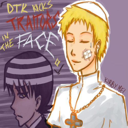 Request Dtk And Justin Law By Kirbymei On Deviantart