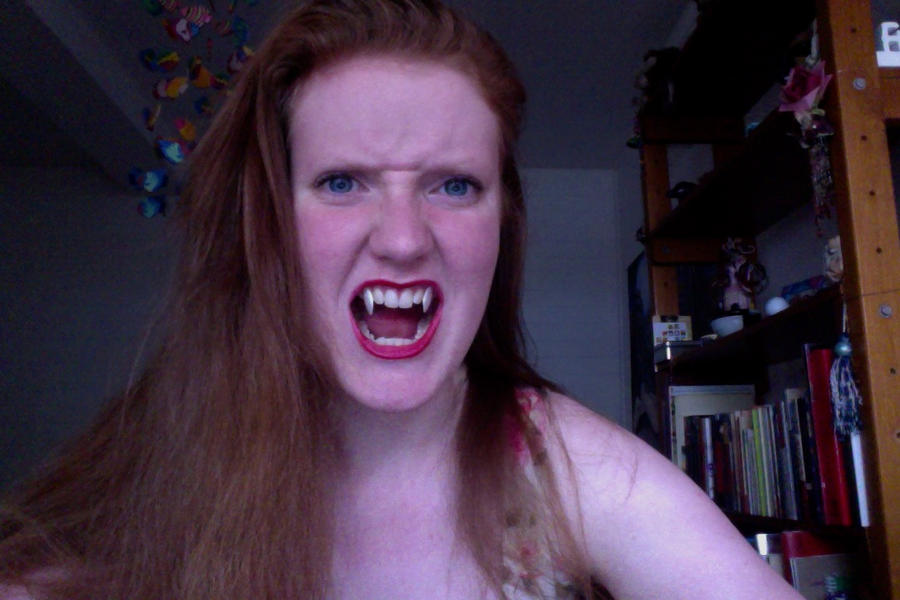 Vampire teeth by Peaches-and-Gravy on DeviantArt